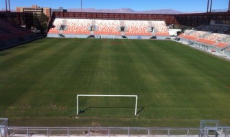 ESTADIO MUNICIPAL DE CALAMA 98% DE AVANCES